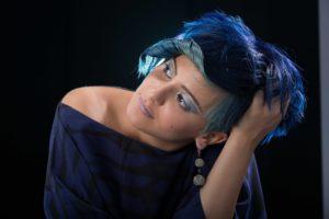 Blaue Haare als Trend 2020