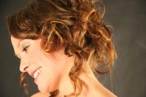 Haare locken - Nahansicht